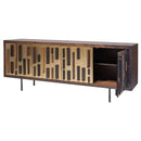 BLOK BRONZE SIDEBOARD CABINET SEARED CABINET