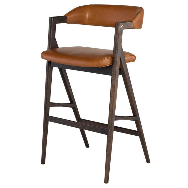 ANITA DESERT BAR STOOL SEARED FRAME