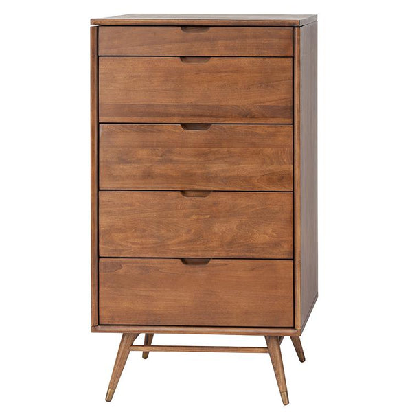 CASE WALNUT DRESSER CABINET