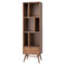 BAAS WALNUT BOOKCASE SHELVING