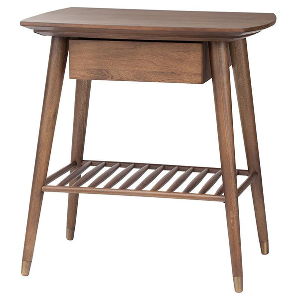 ARI WALNUT SIDE TABLE