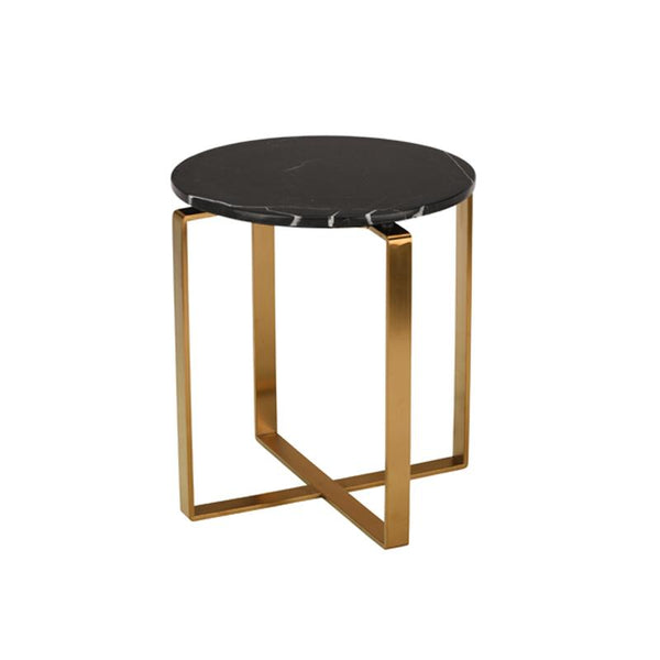ROSA BLACK SIDE TABLE