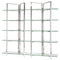ELTON SILVER DISPLAY SHELVING GLASS SHELVES