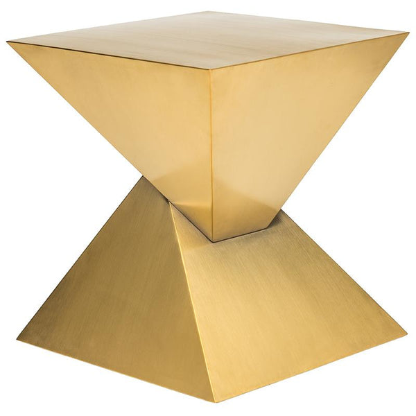 GIZA STEEL GOLD SIDE TABLE
