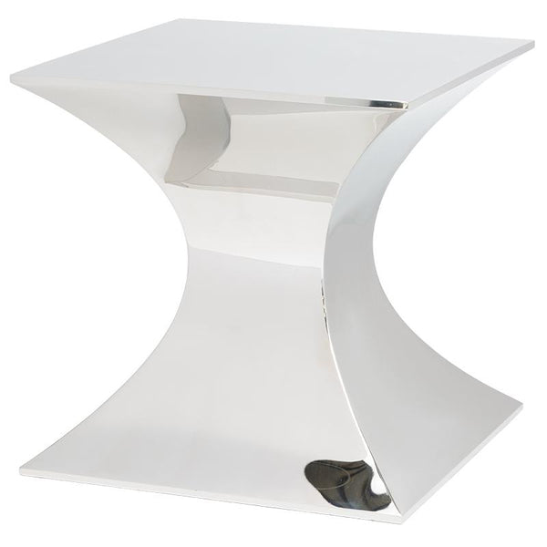 PRAETORIAN SILVER SIDE TABLE