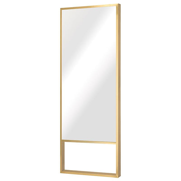 ALEXA GOLD FLOOR MIRROR