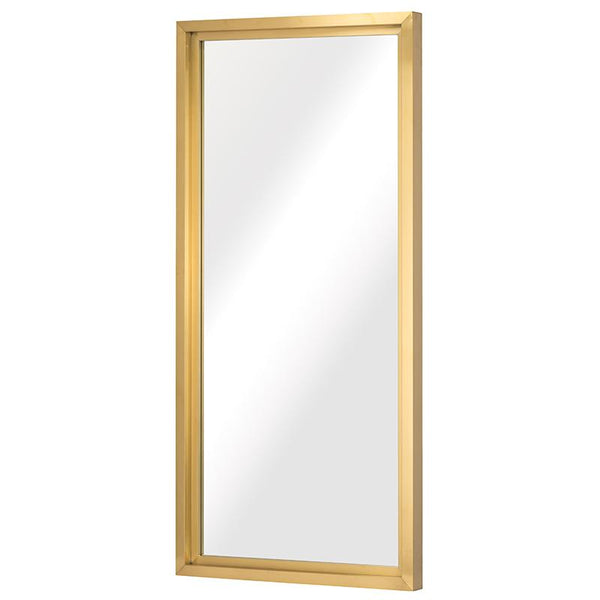 GLAM GOLD FLOOR MIRROR