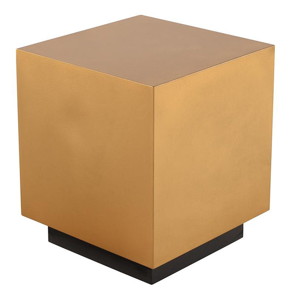 PEYTON GOLD SIDE TABLE