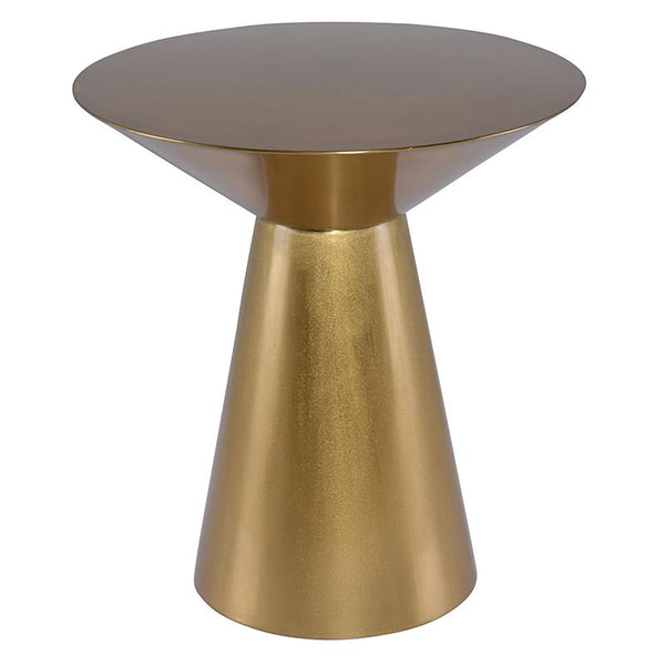 OWEN GOLD SIDE TABLE