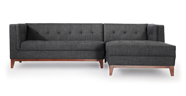 Harrison Chaise Sectional-Right Face, Midnight Oil