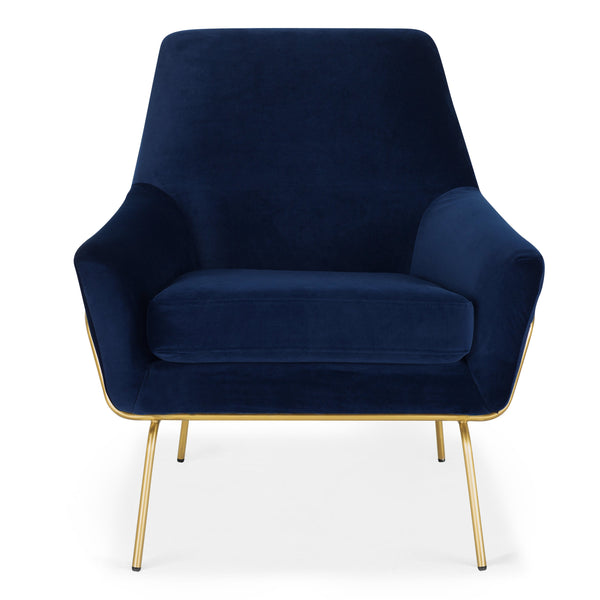Coco Velvet Lounge Chair