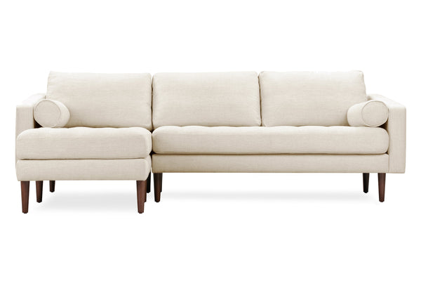 Napa Fabric Left Sectional Sofa