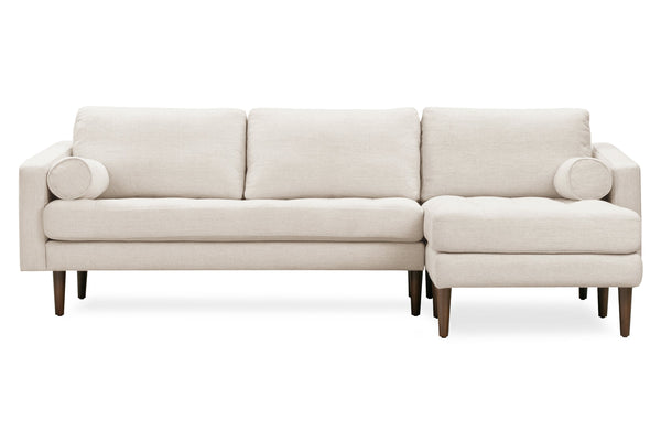 Napa Fabric Right Sectional Sofa