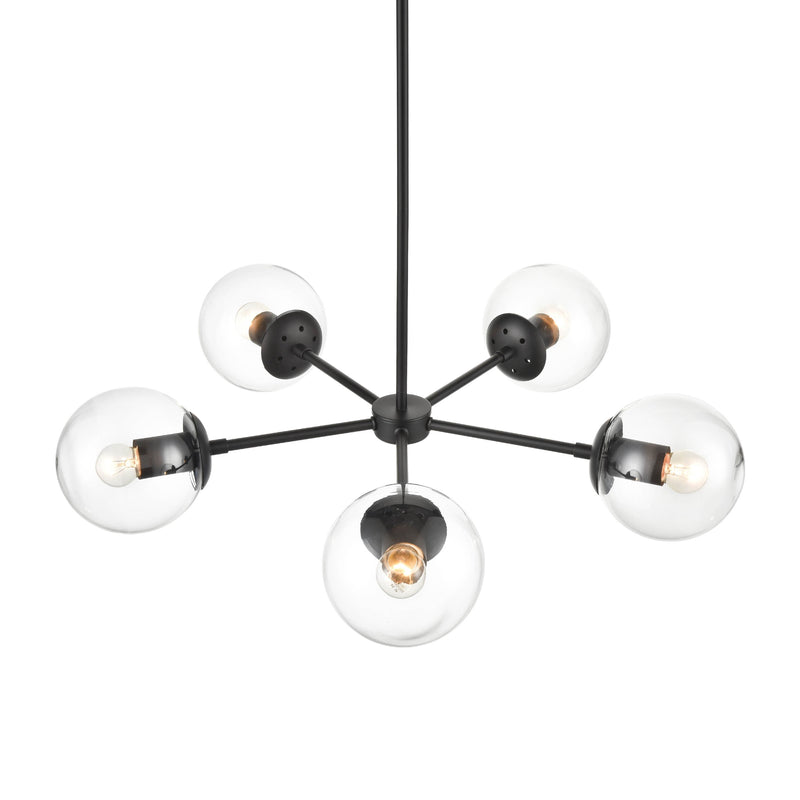 Grammercy Five-Light Chandelier