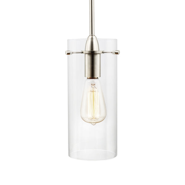 Montreal Clear Glass Pendant