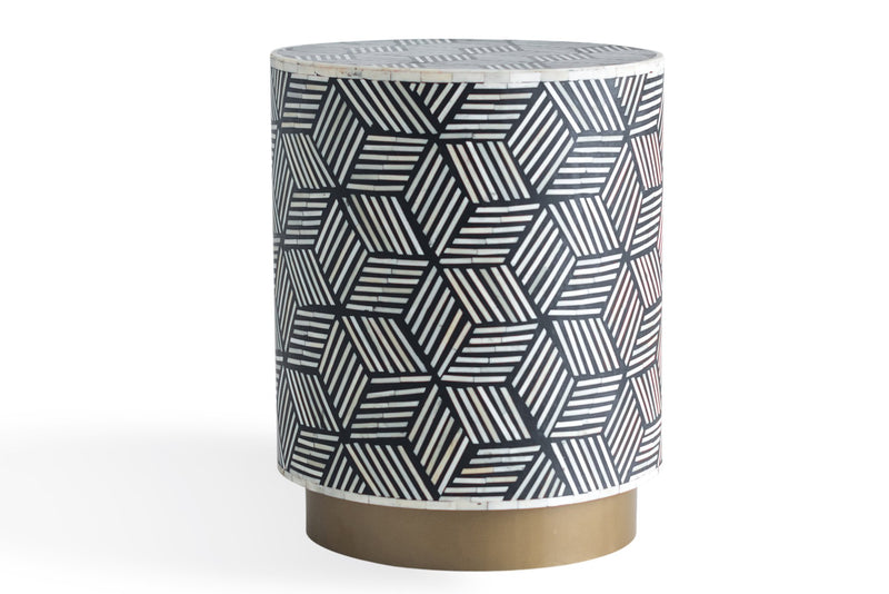 Maha Geo End Table