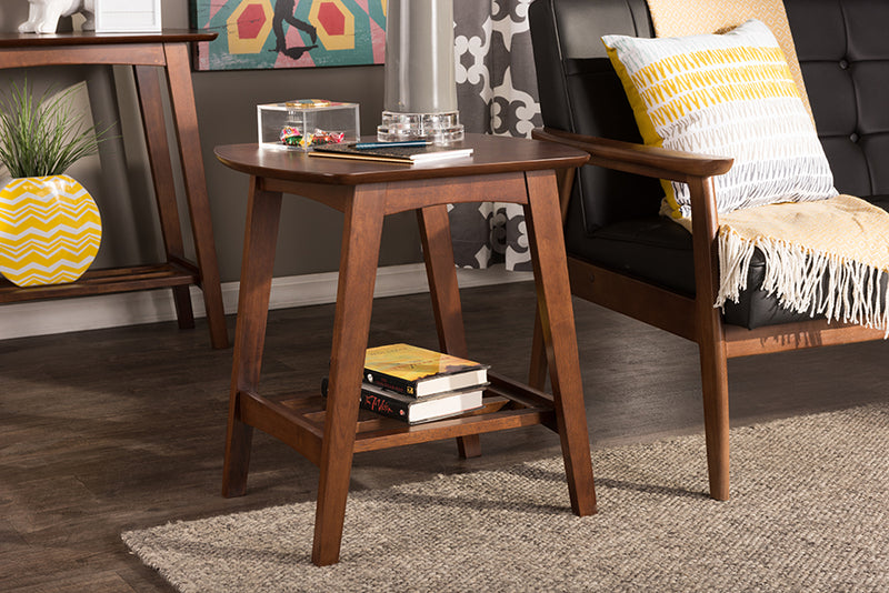 Sacramento Dark Walnut End Table