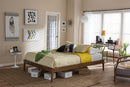 Bentley Walnut Queen Size Bed Frame