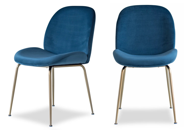 Verona Dining Chair, Blue (Set of 2)