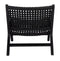 Sunkai Leather Woven Accent Chair