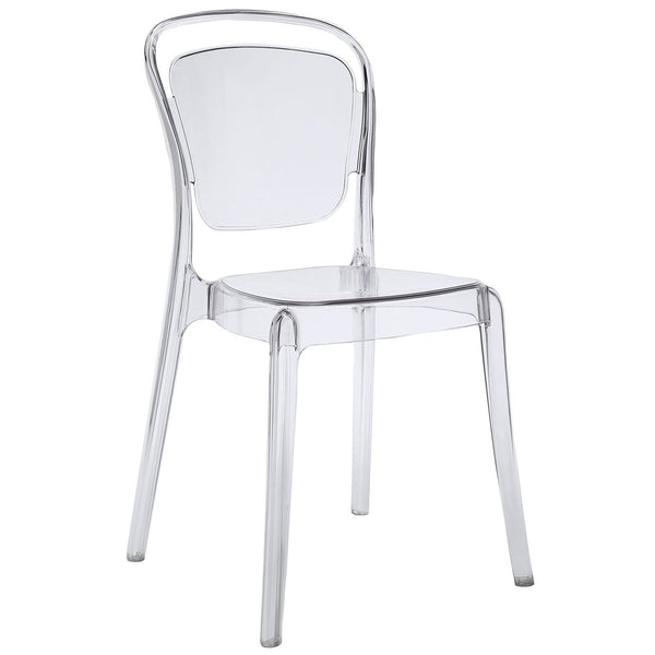 Lucent Ghost Dining Side Chair