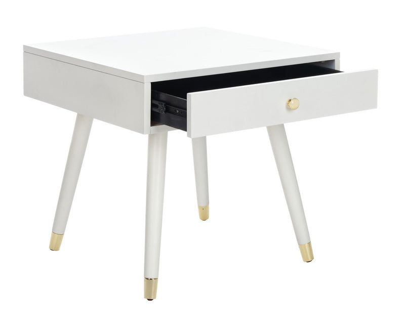 Levinson Gold Cap End Table