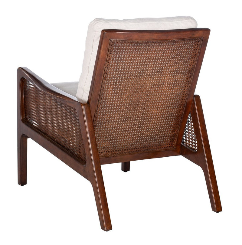 Motly Wood Frame Accent Chair