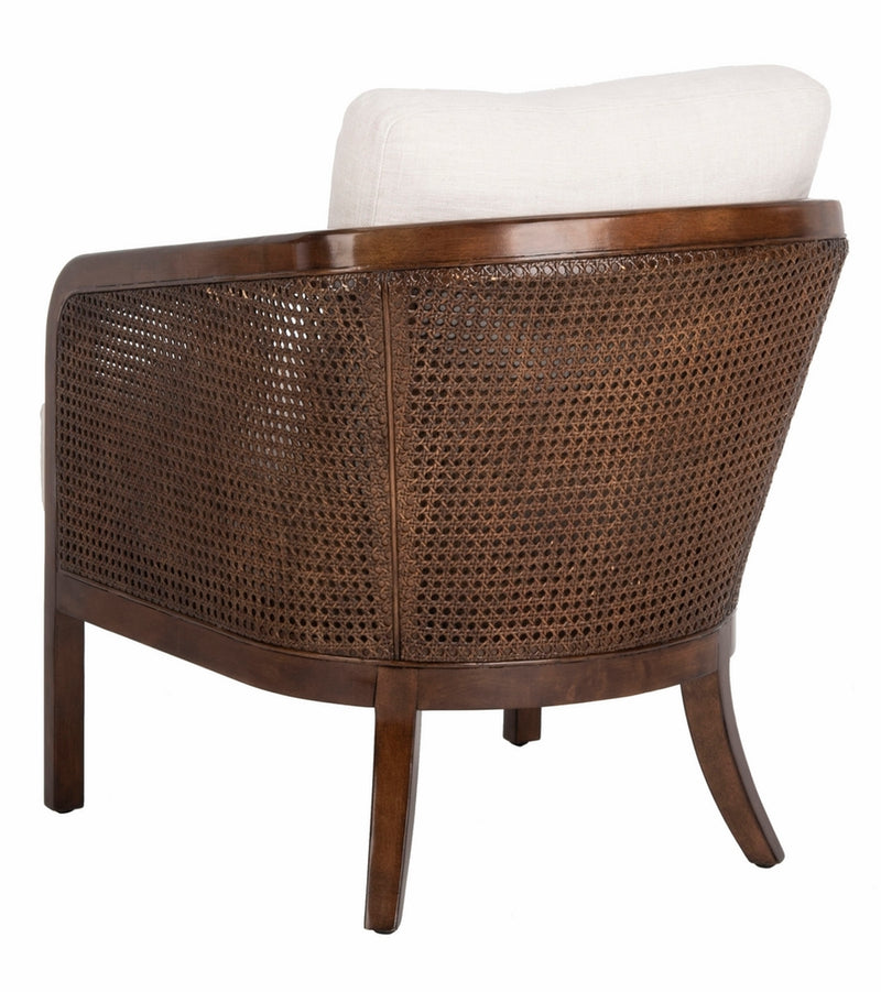 Carlo Barrel Back Chair - Oatmeal