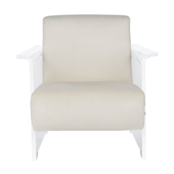 Cloe Acrylic Club Chair