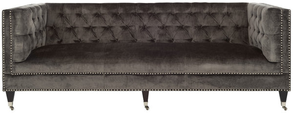 Miller Tufted Velvet Sofa