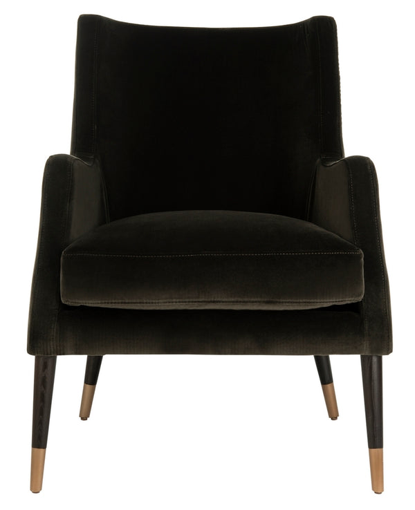 Gevalia Velvet Arm Chair