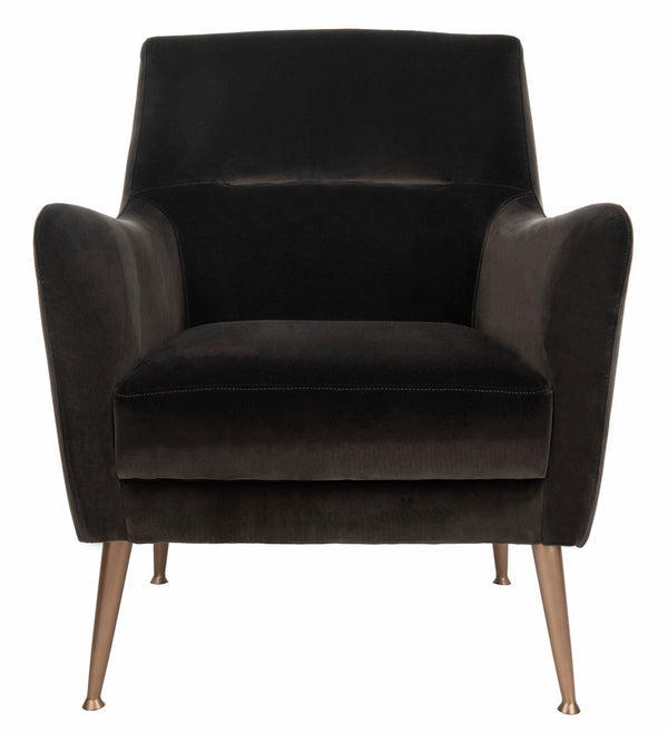 Roma Velvet Arm Chair