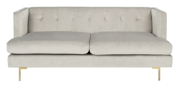 Luciana Diamond Tufted Velvet Sofa