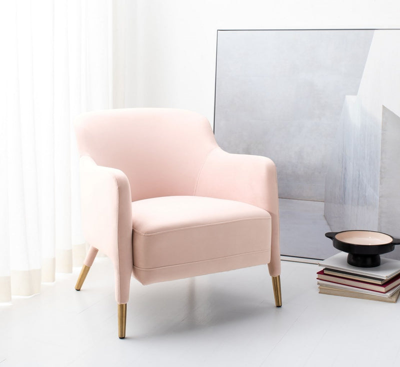 Clarus Velvet Arm Chair