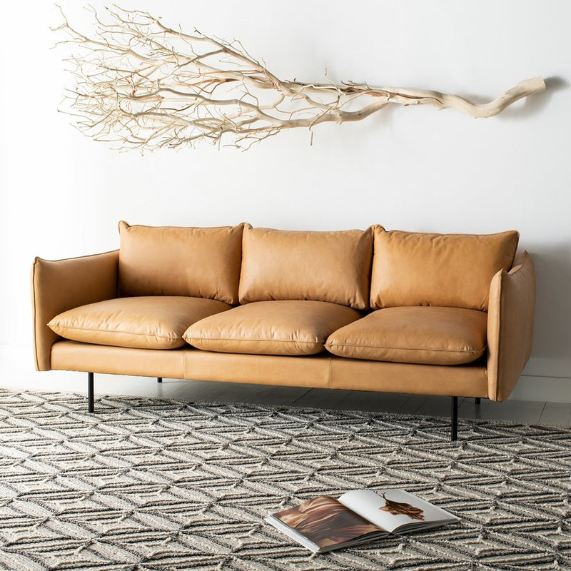 Bubba Italian Leather Sofa