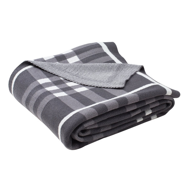 Unity Gingham Knit Throw
