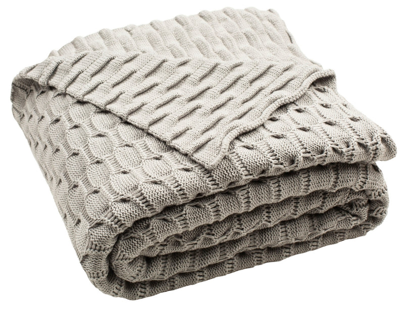 Noela Knit Throw
