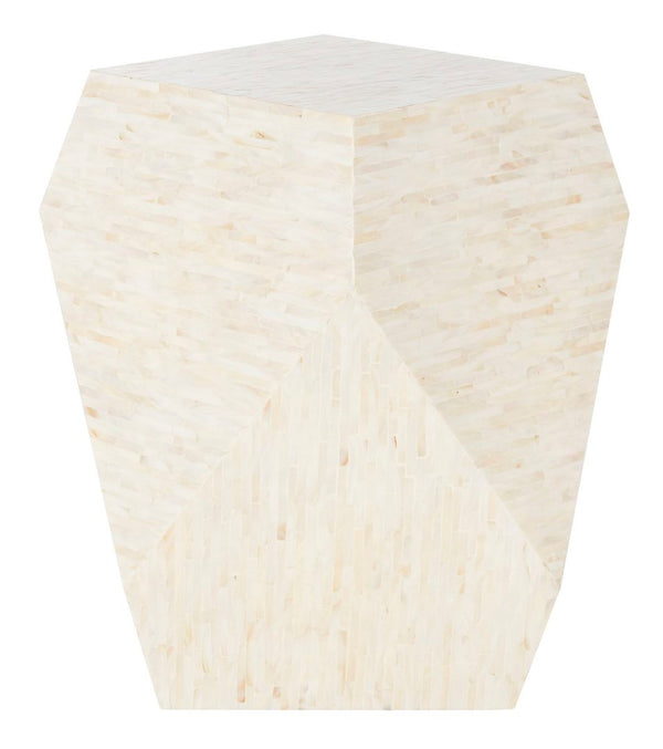 Lea Mosaic Geometric Side Table