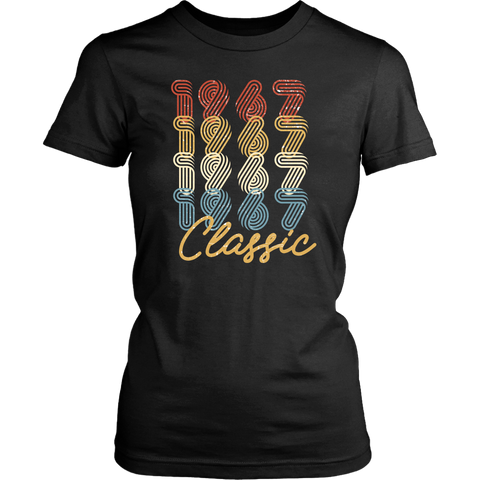 Women's 51st Birthday Gift Vintage 1967 Retro Classic T-Shirt