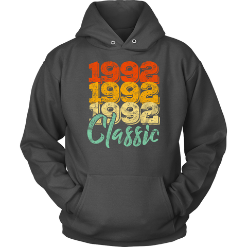 Vintage 1992 Classic 26th Retro Birthday Hoodie