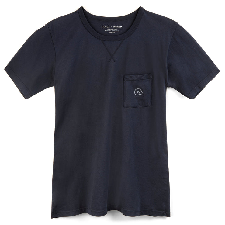 Baja Pocket T - Navy
