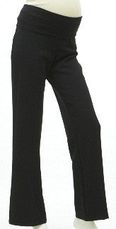 Ninth Moon Maternity -Bi Stretch Wide Leg Pants