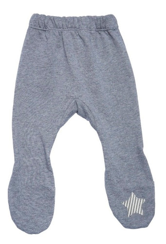 inuk - Grey Star Organic Cotton Leggings
