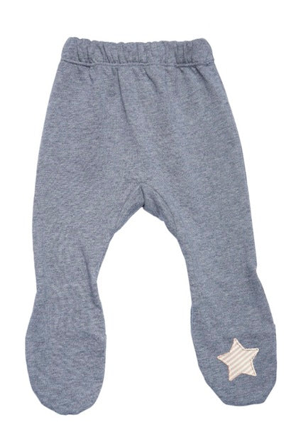inuk - Pink Star Organic Cotton Leggings