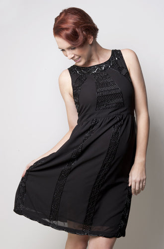 Ripe Maternity - Harlow Beaded Maternity Evening Dress