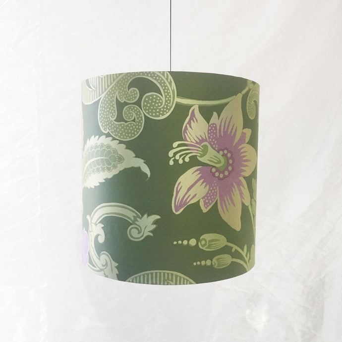 Lampshade - Green Floral