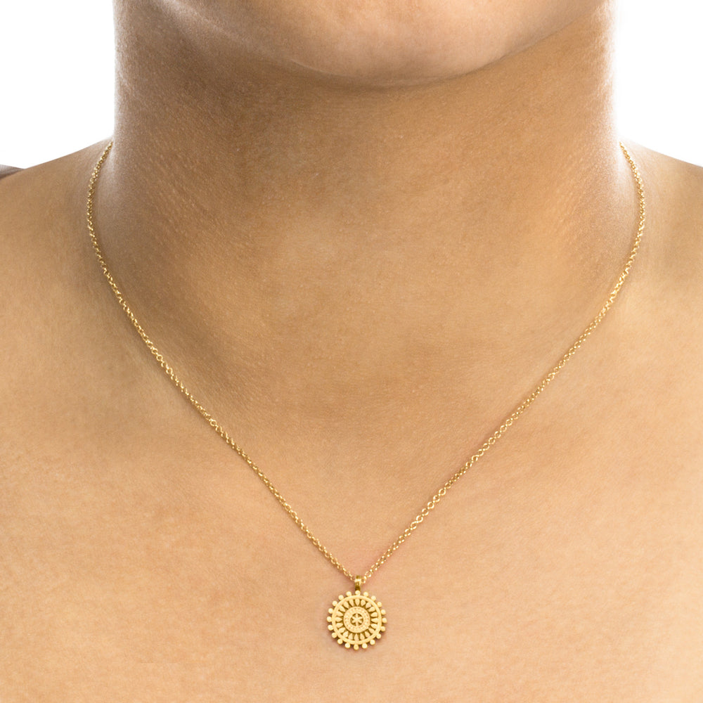 "Collar mini mandala ""mindful"""