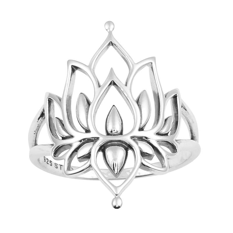 "Anillo ""Blossoming Lotus"""