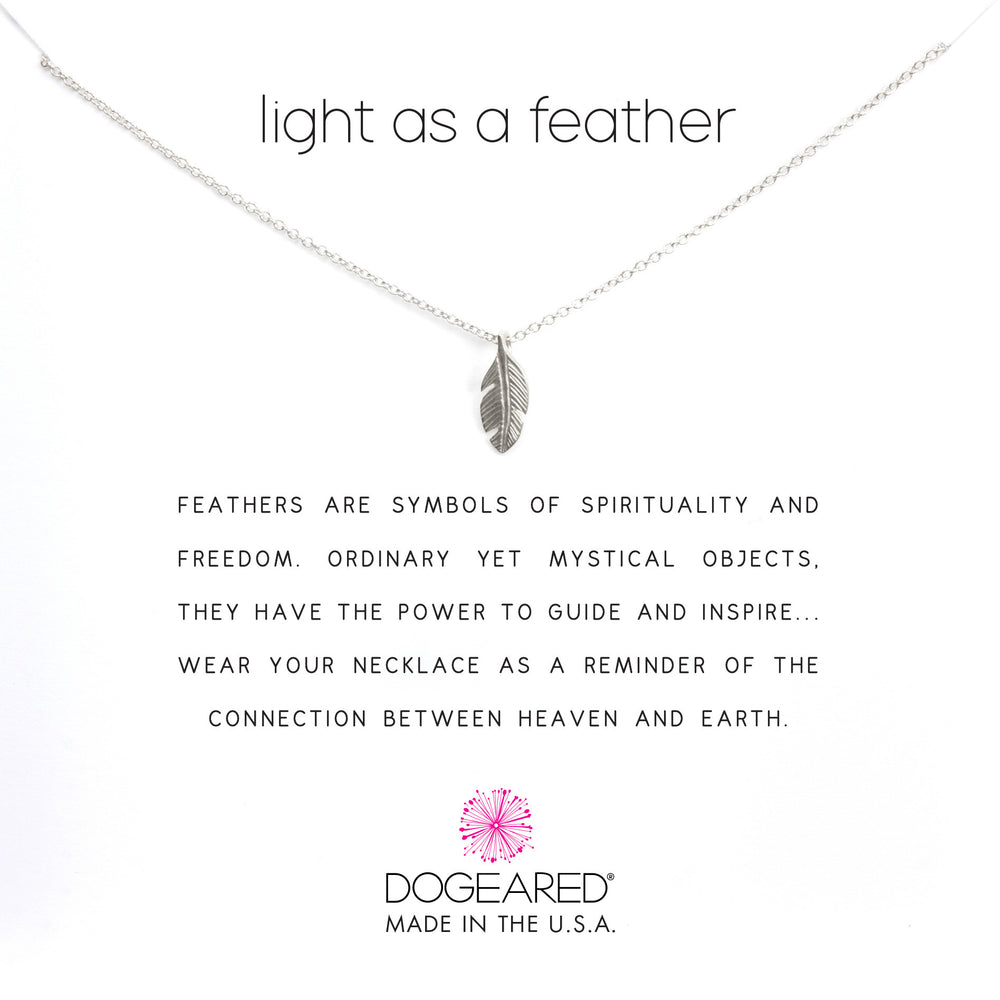 "Collar ""light as a feather"""