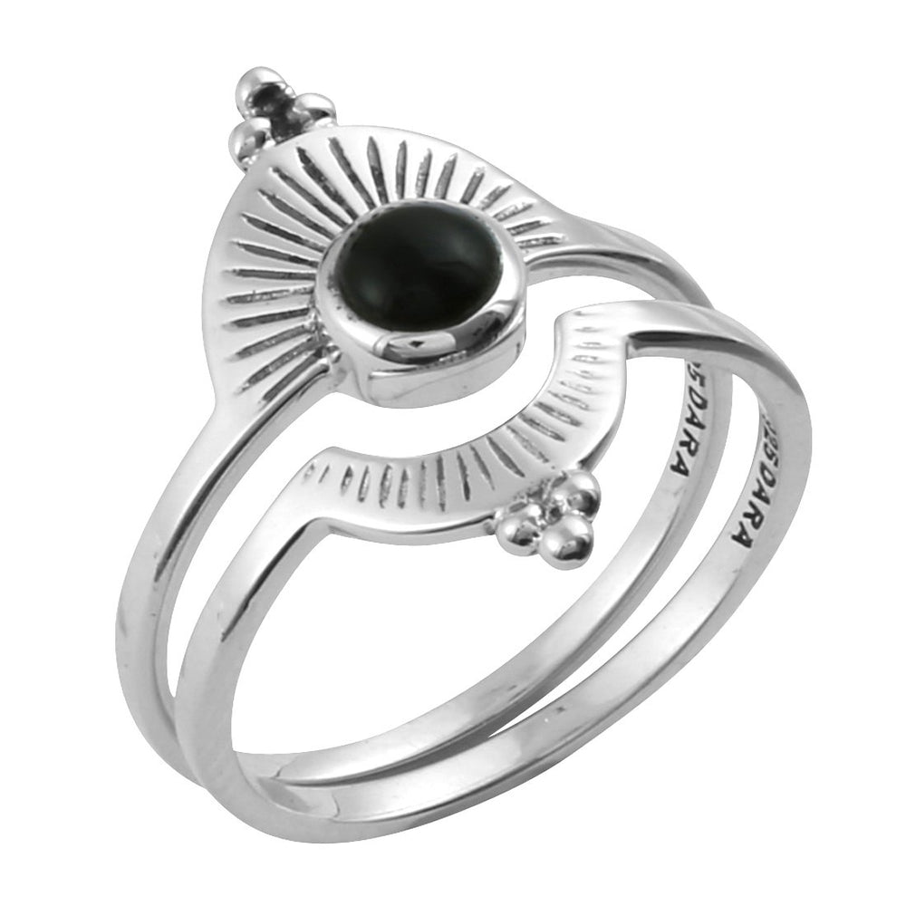 "Anillo ""Shield Onyx"""